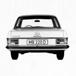 Clase E W115 1967-1976
