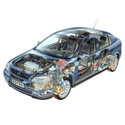 Astra G Sedan 1998-2004